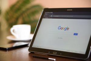 google rankings tablet